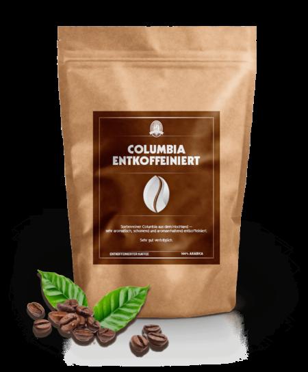 Columbia Entkoffeiniert