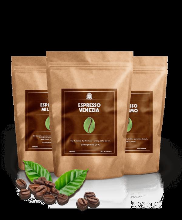 Espressobohnen Set